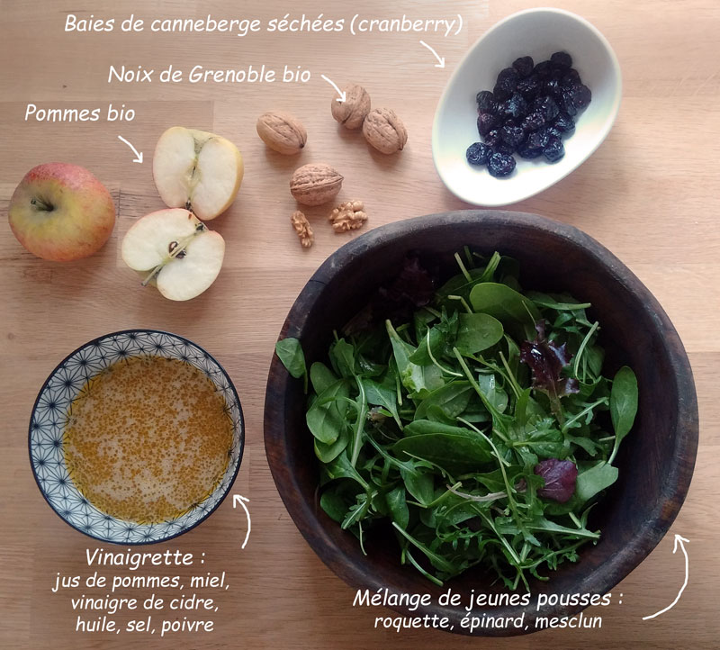 ingredient-salade-pomme-cranberry